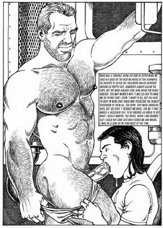gay truck driver blowjob | Gay Comics blog