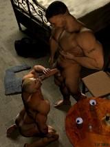 3D Gay Art - USMC rest after the service. - 3D Gay Porn