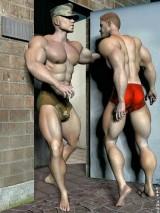 3D Gay Art - rigid male porn. - 3D Gay Porn