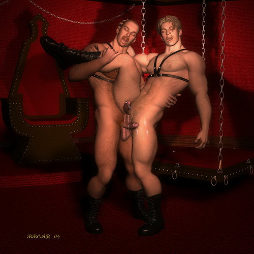 Gay Comics 3D - BDSM: BDSM