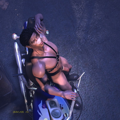 Gay Comics 3D - muscular and naked men: muscular and naked men