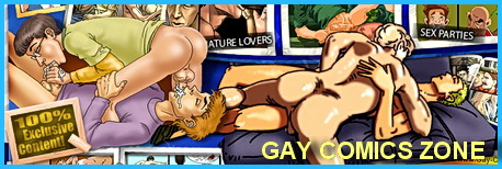 Hot yaoi - hard gay sex - Gay Comics