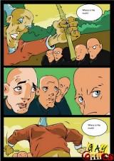 Gay Kung-Fu masters. Gay Comics - BDSM. - Gay Comics