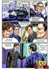 Corporative gay party  - Gay Comics