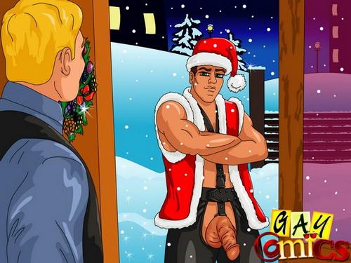 Gay Christmas comics - Gay Comics